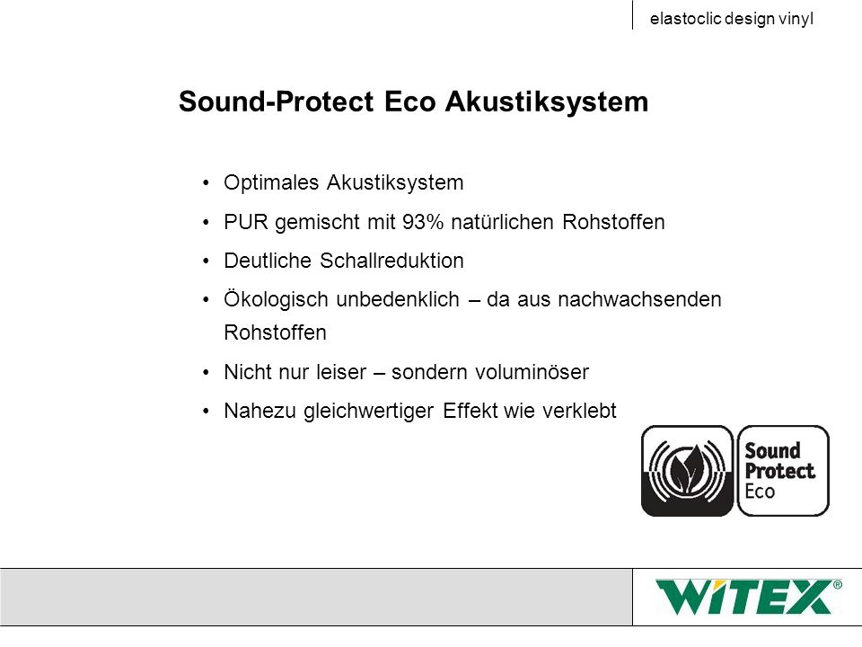 Sound-Protect Eco Akustiksystem