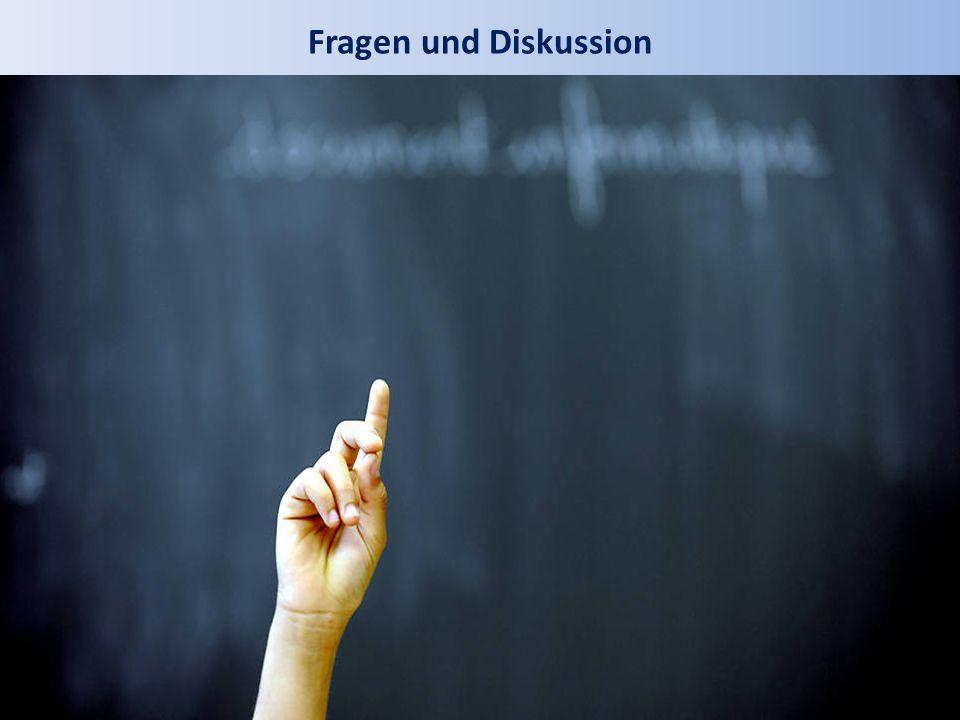 Fragen und Diskussion
