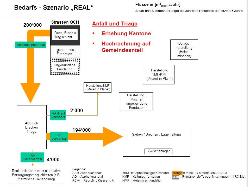 """Bedarfs - Szenario """"REAL"""
