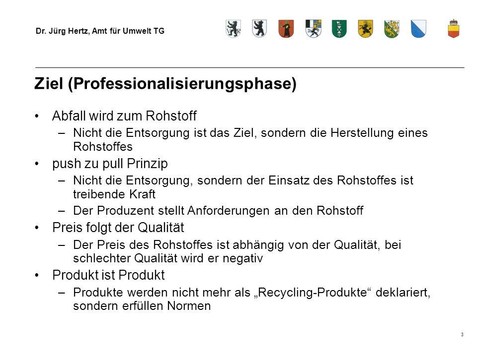 Ziel (Professionalisierungsphase)