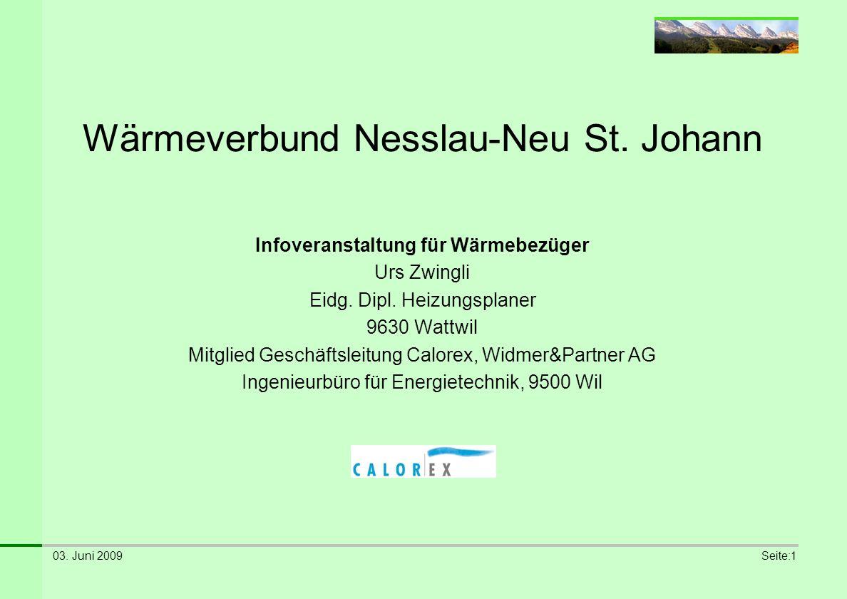 Wärmeverbund Nesslau-Neu St. Johann
