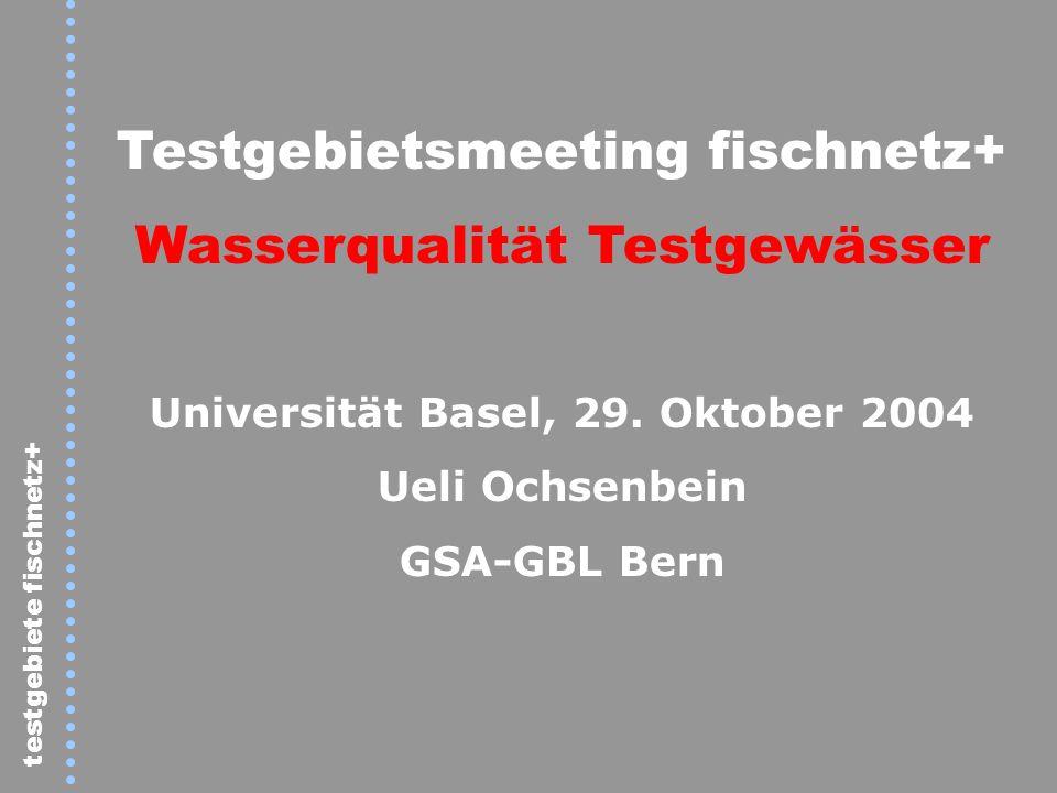 Universität Basel, 29. Oktober 2004