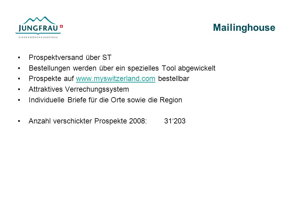 Mailinghouse Prospektversand über ST