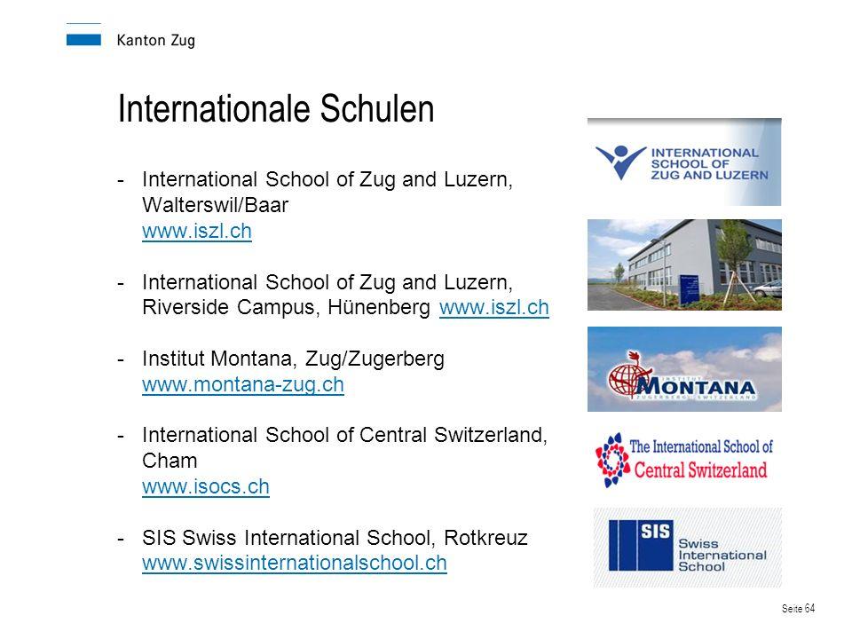 Internationale Schulen
