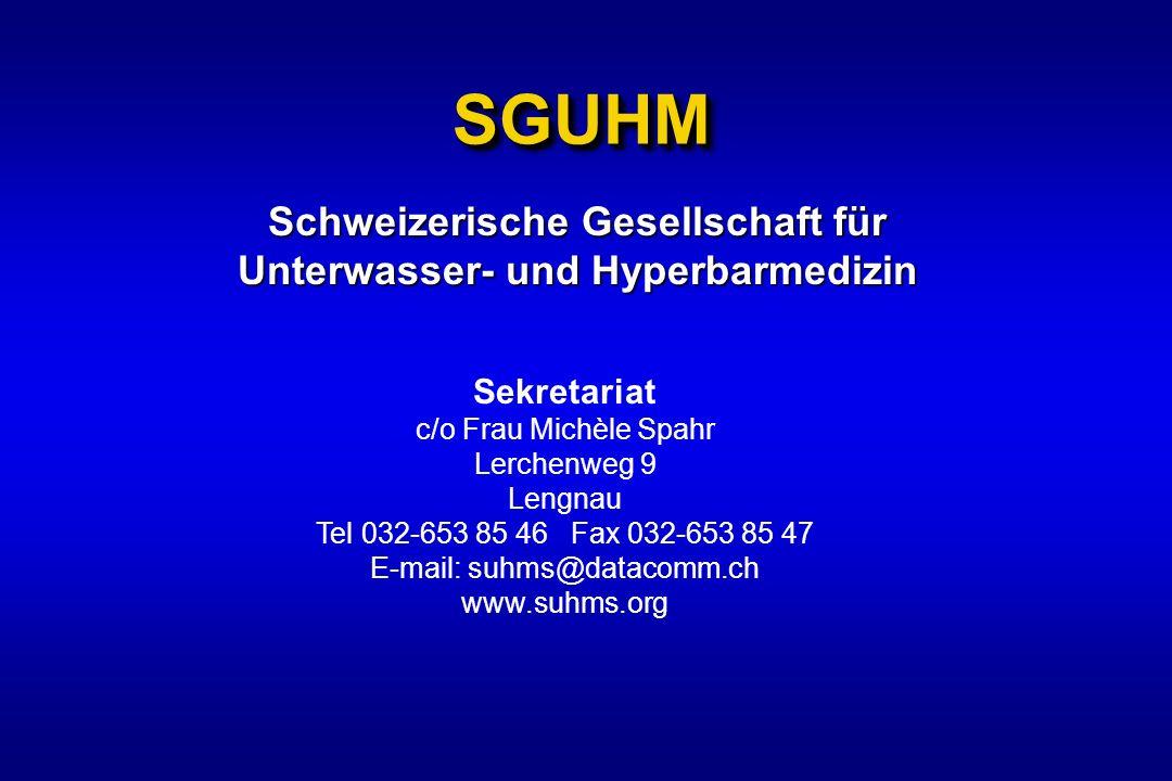 Schweizerische Gesellschaft für Unterwasser- und Hyperbarmedizin