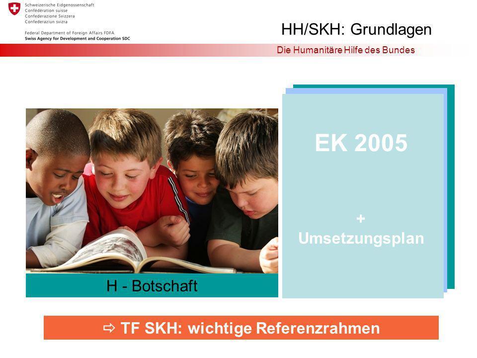  TF SKH: wichtige Referenzrahmen