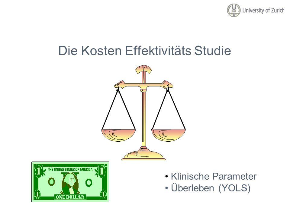 Die Kosten Effektivitäts Studie