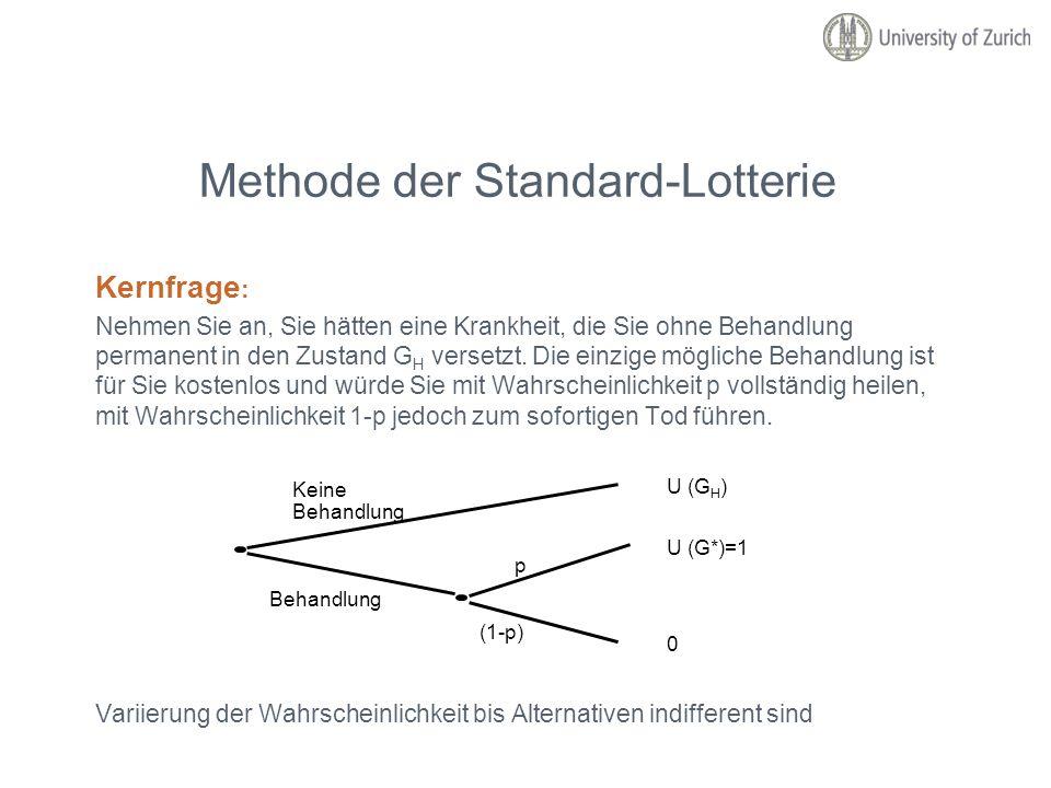 Methode der Standard-Lotterie