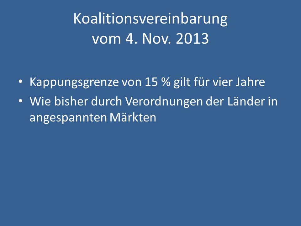 Koalitionsvereinbarung vom 4. Nov. 2013