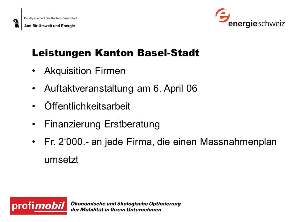 Leistungen Kanton Basel-Stadt