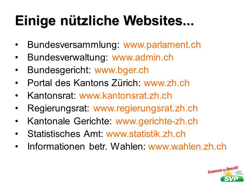 Einige nützliche Websites...