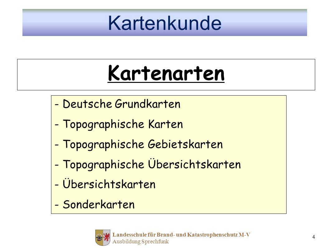 Kartenarten Kartenkunde Deutsche Grundkarten Topographische Karten