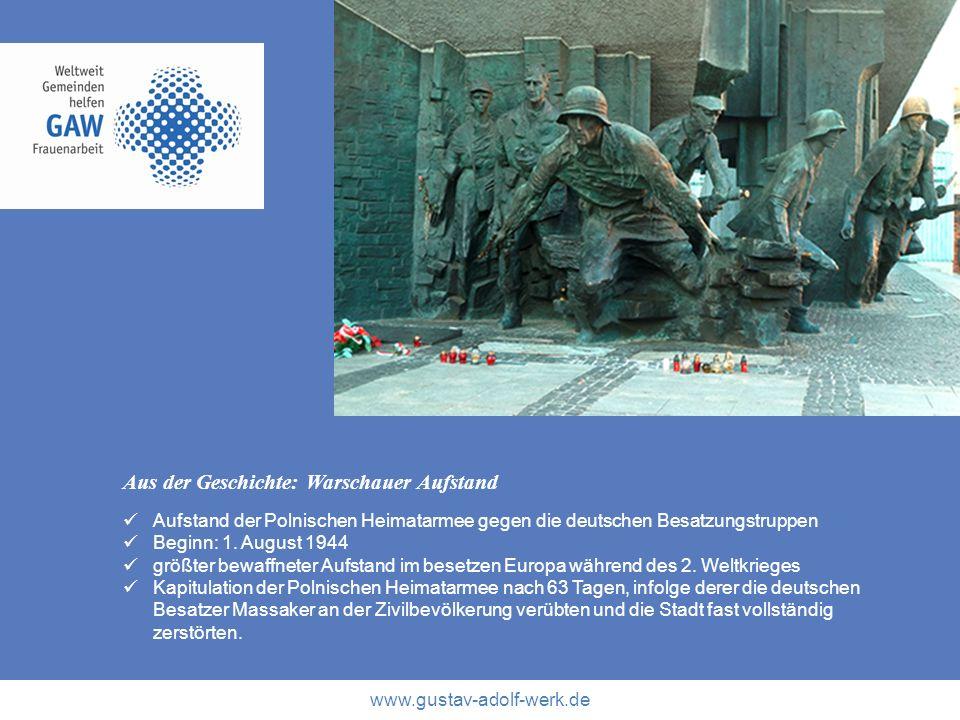 Aus der Geschichte: Warschauer Aufstand