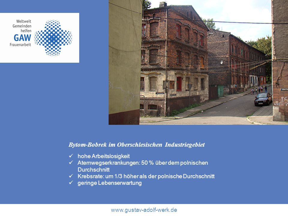 Bytom-Bobrek im Oberschlesischen Industriegebiet
