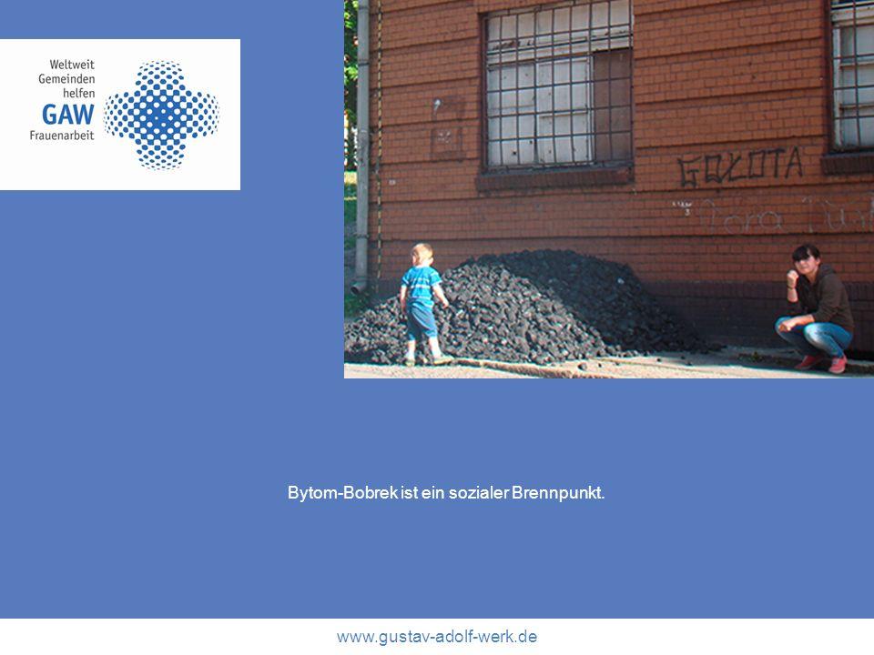 Bytom-Bobrek ist ein sozialer Brennpunkt.