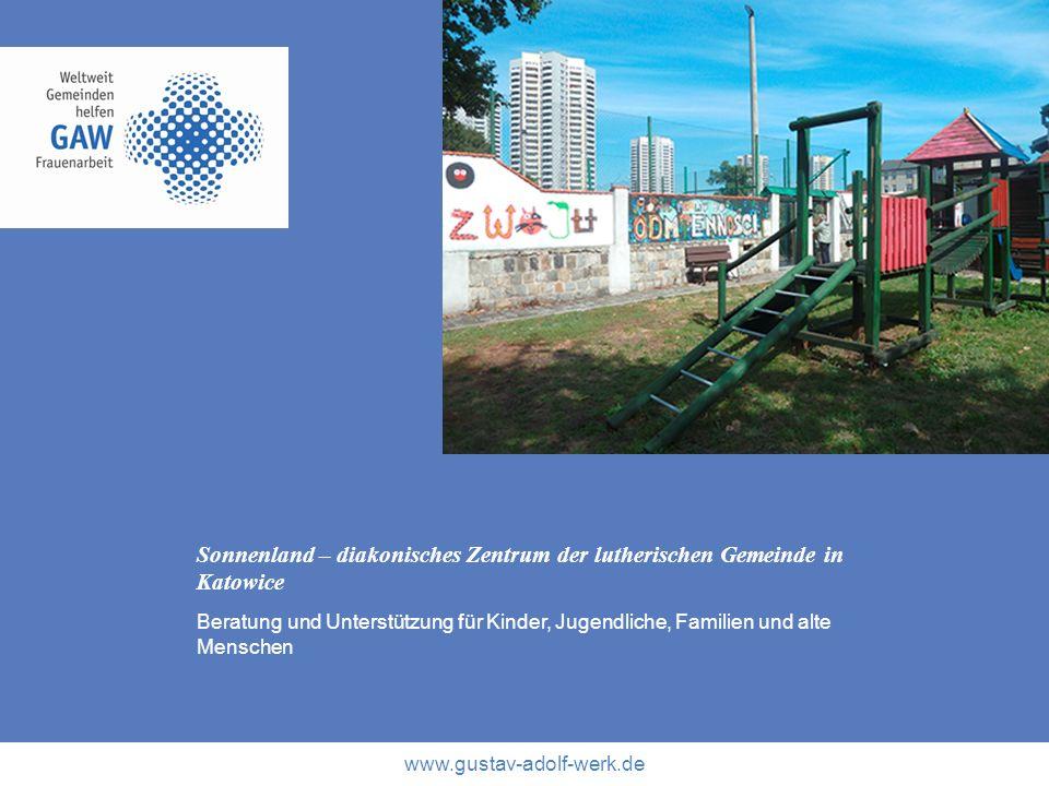 Sonnenland – diakonisches Zentrum der lutherischen Gemeinde in Katowice