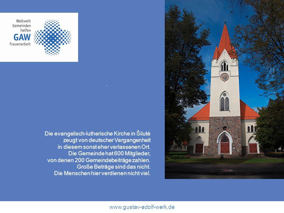 Die evangelisch-lutherische Kirche in Šilutė