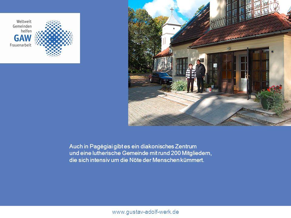 Auch in Pagėgiai gibt es ein diakonisches Zentrum
