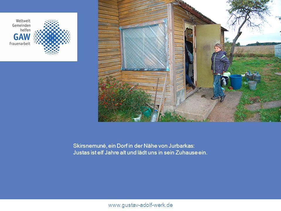 Skirsnemunė, ein Dorf in der Nähe von Jurbarkas: