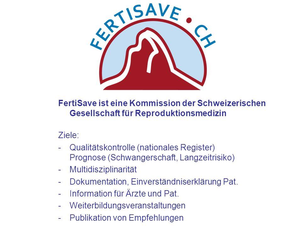 FertiSave ist eine Kommission der Schweizerischen Gesellschaft für Reproduktionsmedizin
