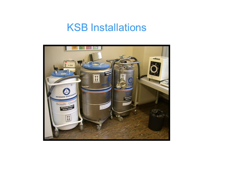 KSB Installations