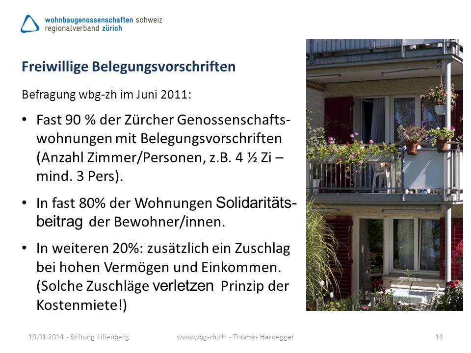 www.wbg-zh.ch - Thomas Hardegger