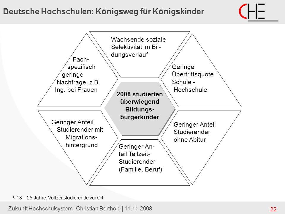 Deutsche Hochschulen: Königsweg für Königskinder
