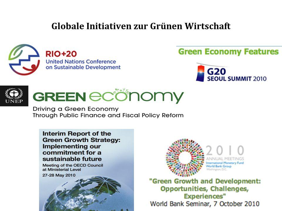 Globale Initiativen zur Grünen Wirtschaft
