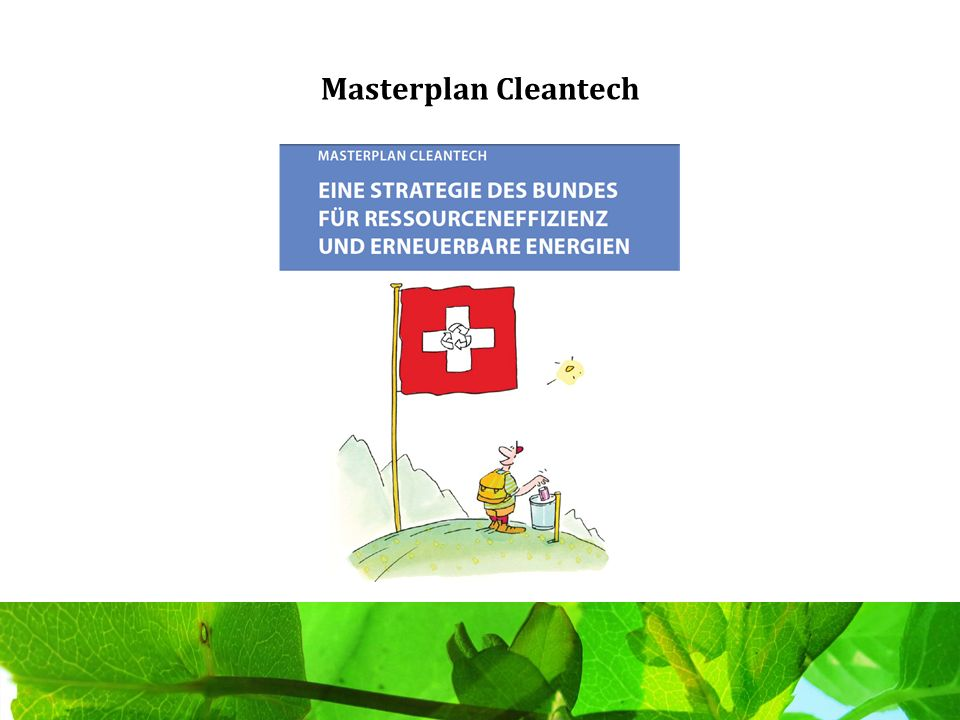 Masterplan Cleantech
