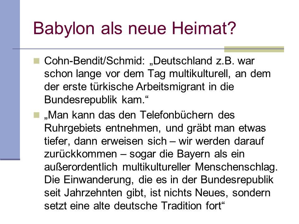 Babylon als neue Heimat
