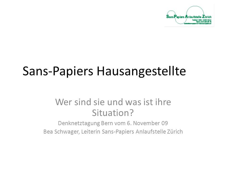 Sans-Papiers Hausangestellte