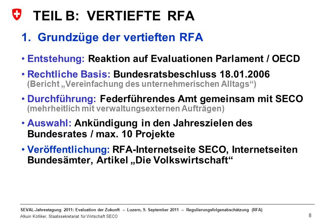 TEIL B: VERTIEFTE RFA 1. Grundzüge der vertieften RFA