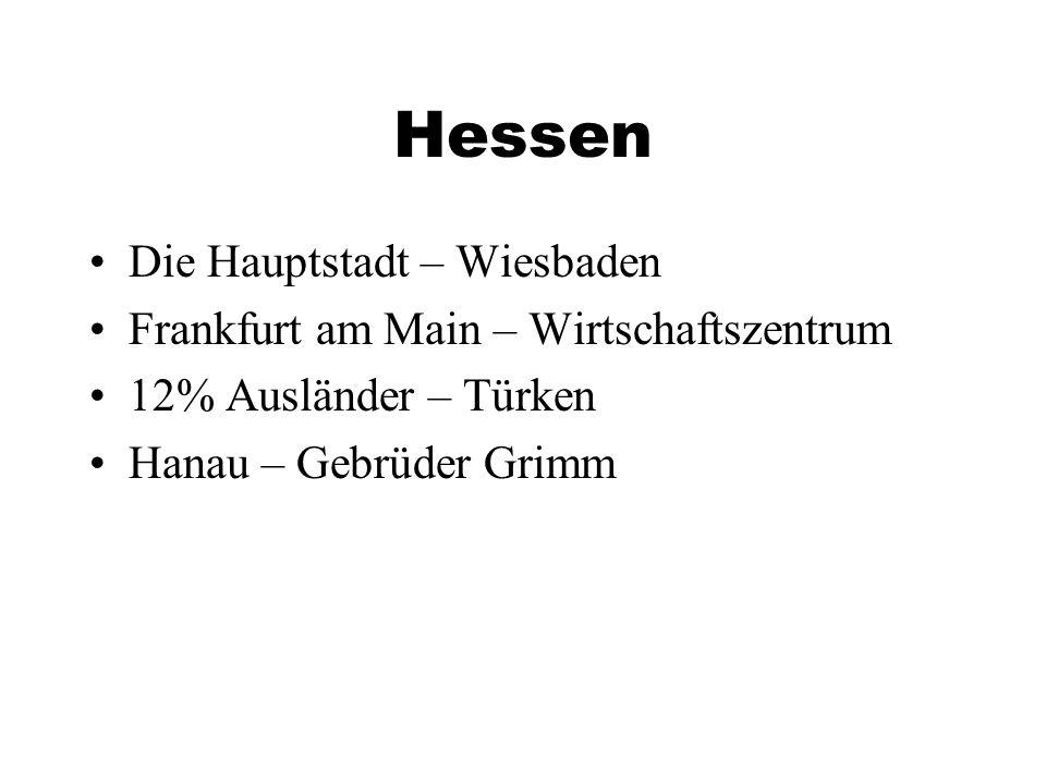 Hessen Die Hauptstadt – Wiesbaden