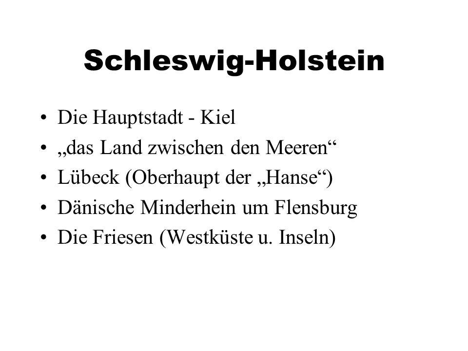 Schleswig-Holstein Die Hauptstadt - Kiel