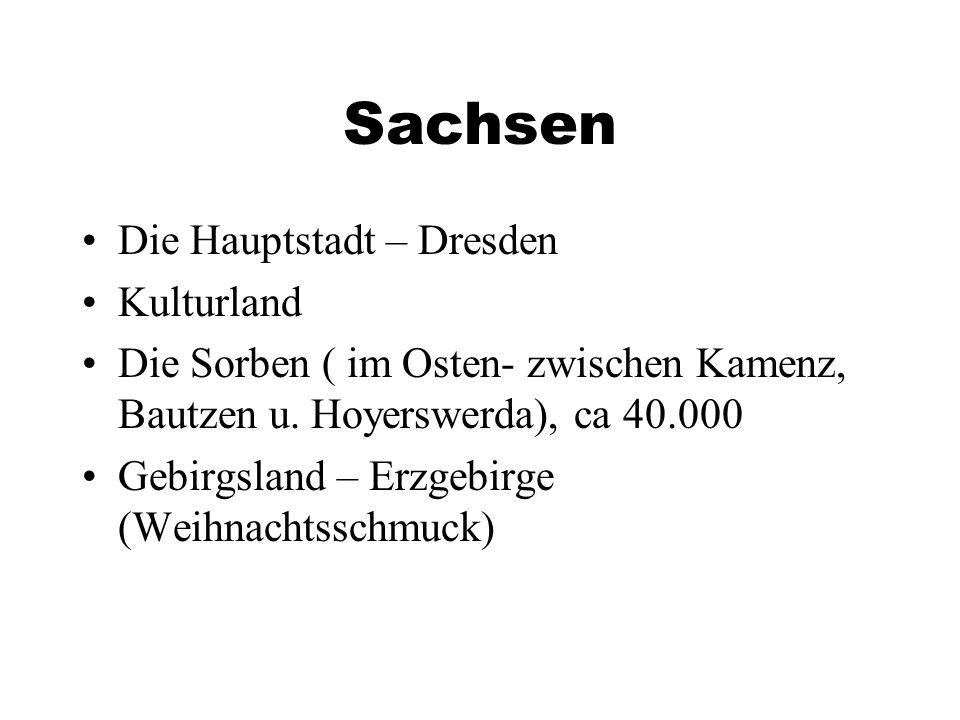 Sachsen Die Hauptstadt – Dresden Kulturland