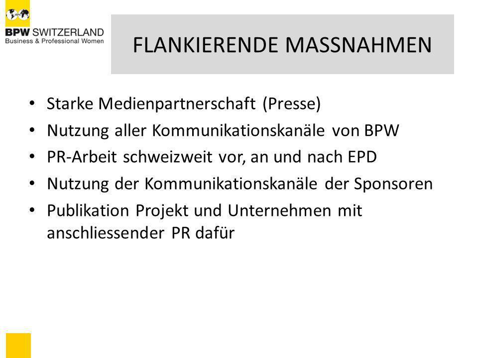 FLANKIERENDE MASSNAHMEN