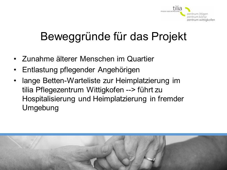 Beweggründe für das Projekt