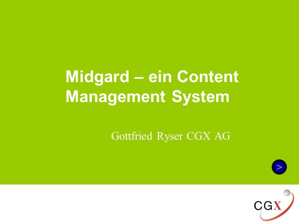 Midgard – ein Content Management System