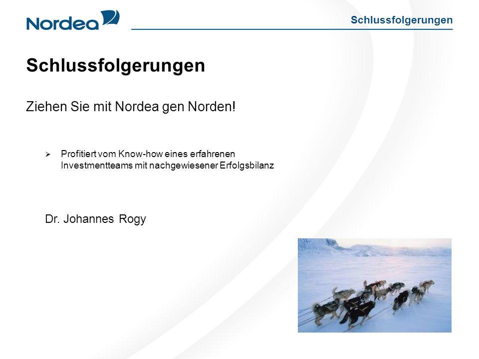 Schlussfolgerungen Ziehen Sie mit Nordea gen Norden!