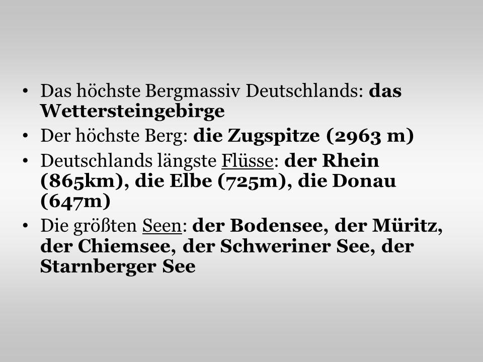 Das höchste Bergmassiv Deutschlands: das Wettersteingebirge