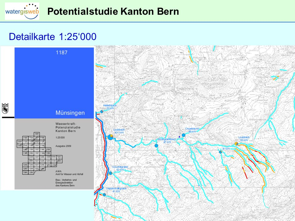 Potentialstudie Kanton Bern