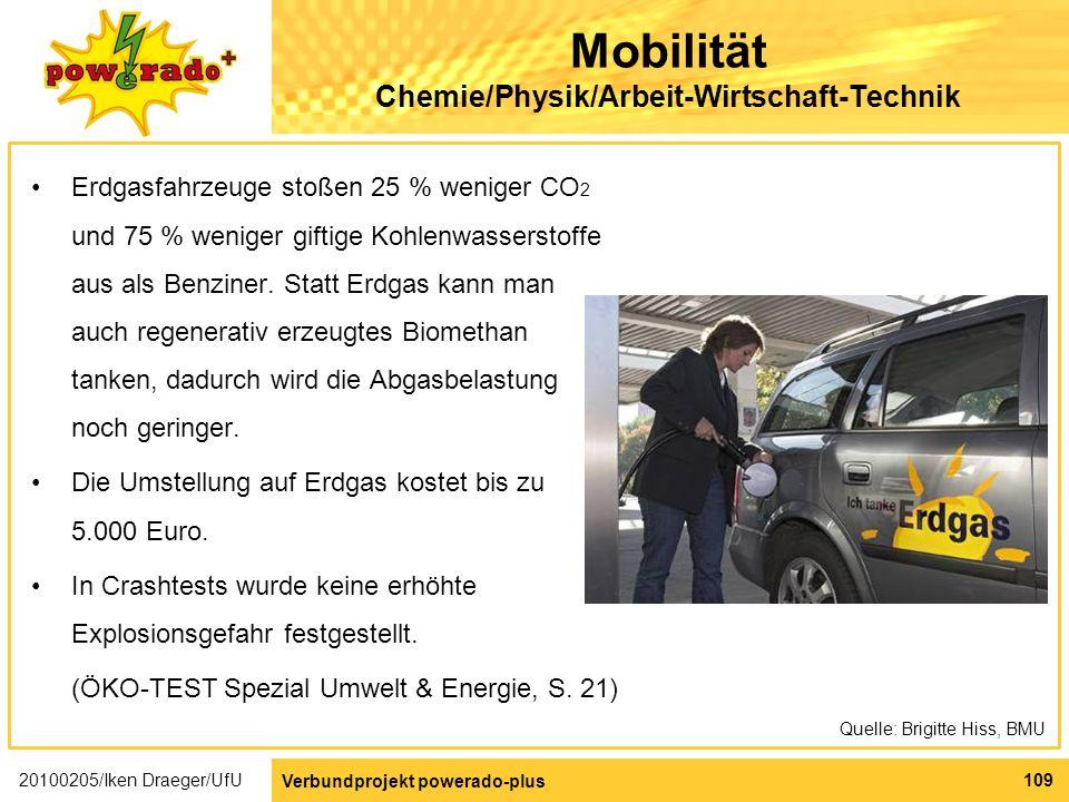 Mobilität Chemie/Physik/Arbeit-Wirtschaft-Technik