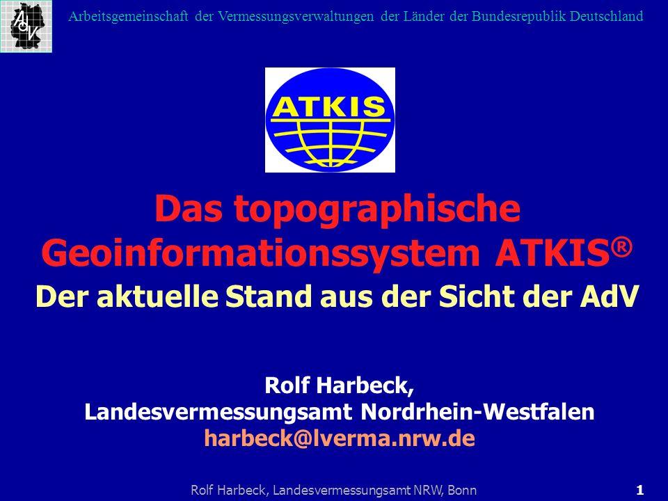 Das topographische Geoinformationssystem ATKIS®