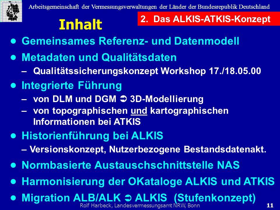 Inhalt • Gemeinsames Referenz- und Datenmodell