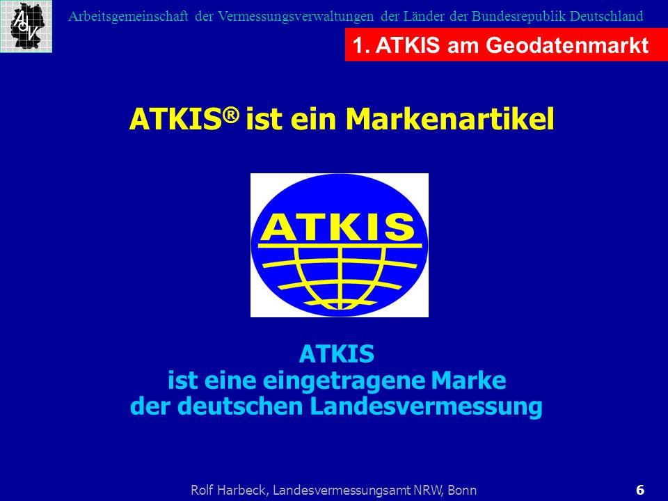 ATKIS ist eine eingetragene Marke der deutschen Landesvermessung