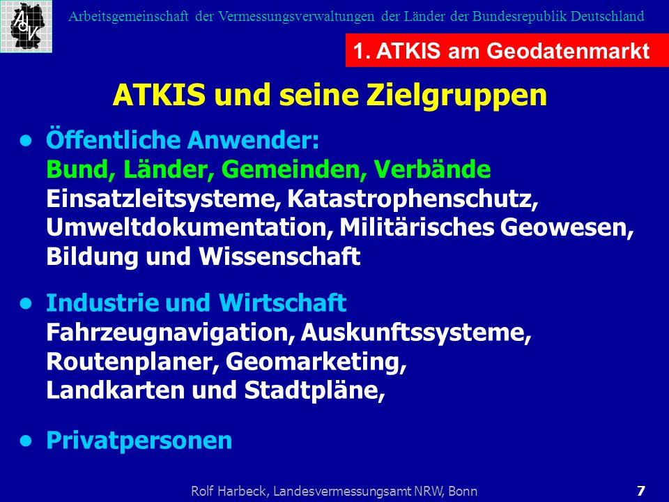 ATKIS und seine Zielgruppen