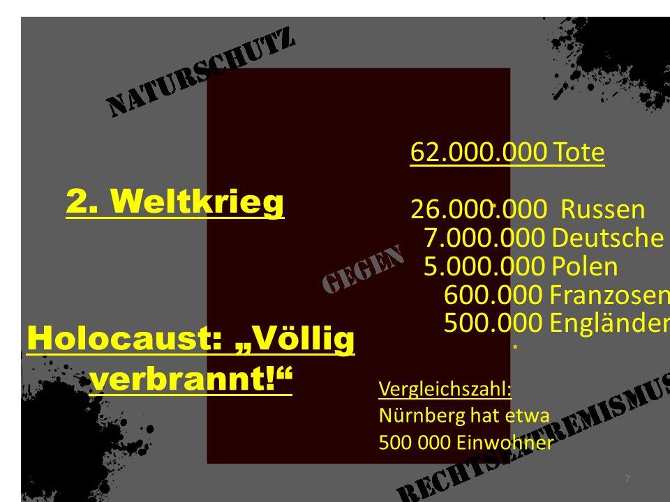 """Holocaust: """"Völlig verbrannt!"""