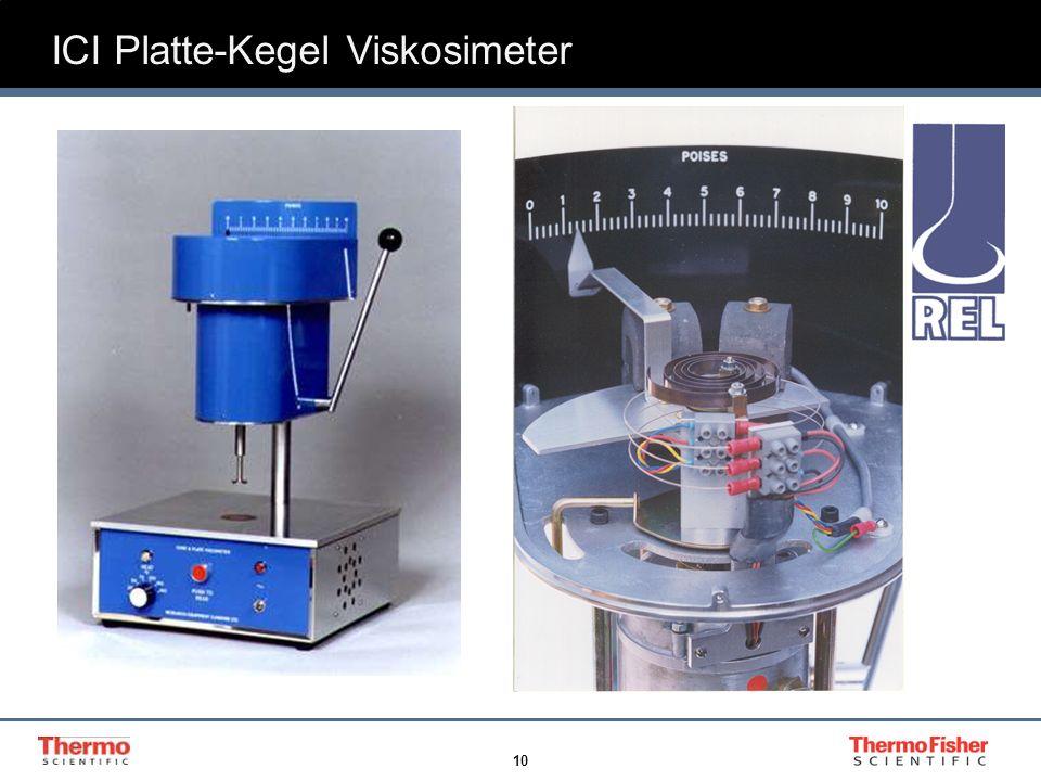 ICI Platte-Kegel Viskosimeter