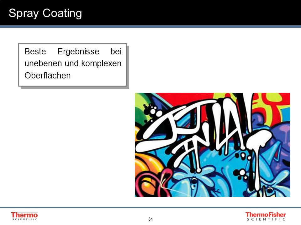 Spray Coating Graffiti