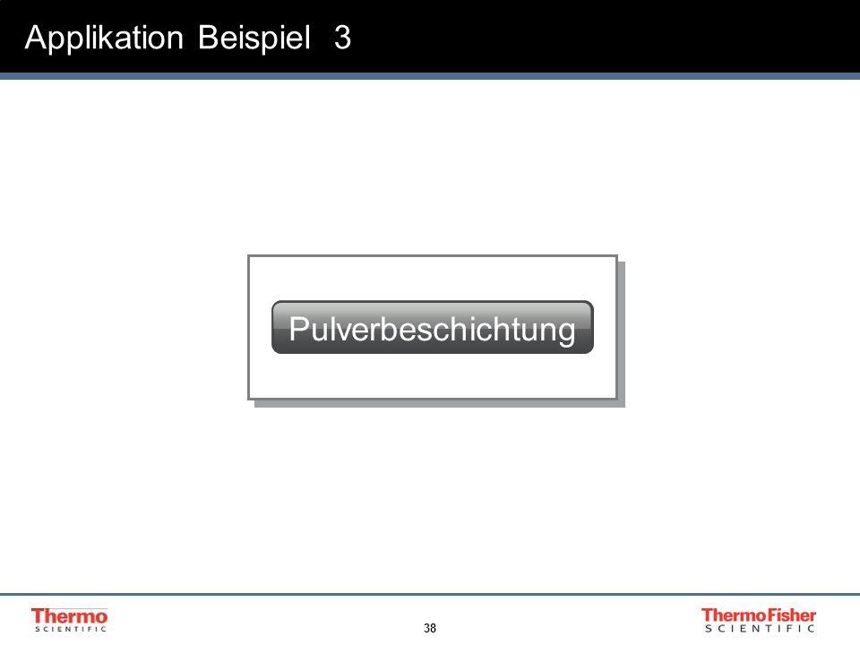 Applikation Beispiel 3 Pulverbeschichtung